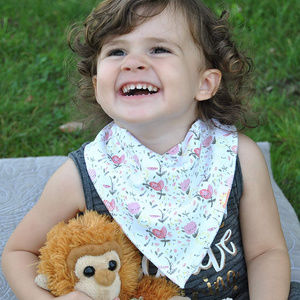 Shoobles BiBIS 4 Pack Snap on BABY BANDANA ORGANIC